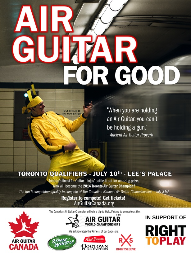 Air Guitar Canada - Toronto Qualifiers