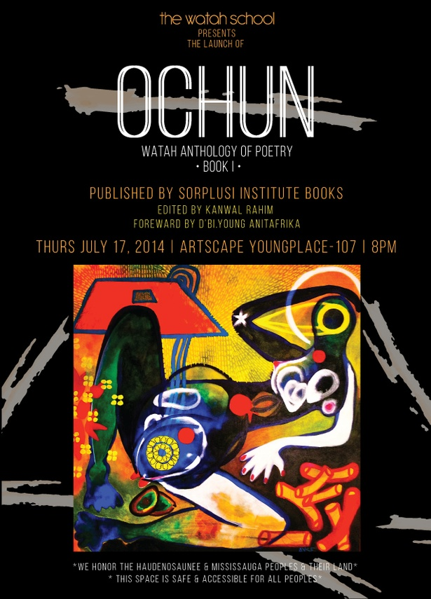 OCHUN Poetry anthology book launch -with d'bi young and WATAH art school poets