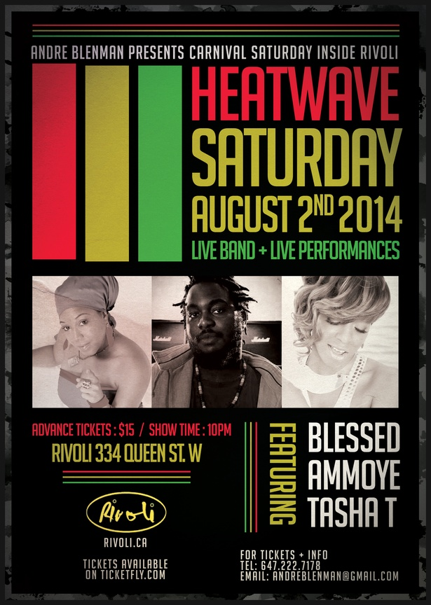 Heatwave::Carnival Edition ft. Blessed, Ammoye & Tasha T