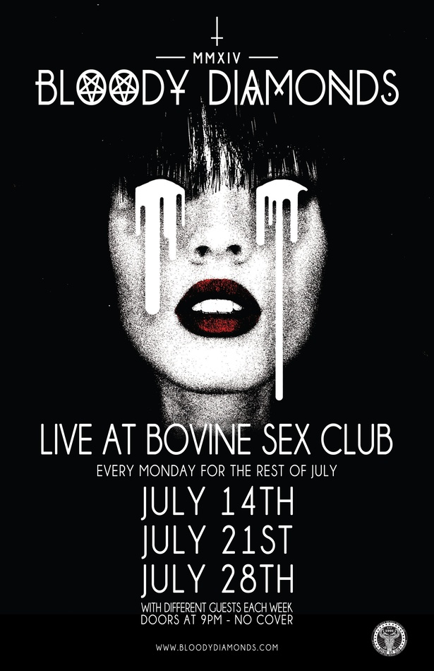 Bloody Diamonds Live at Bovine Sex Club