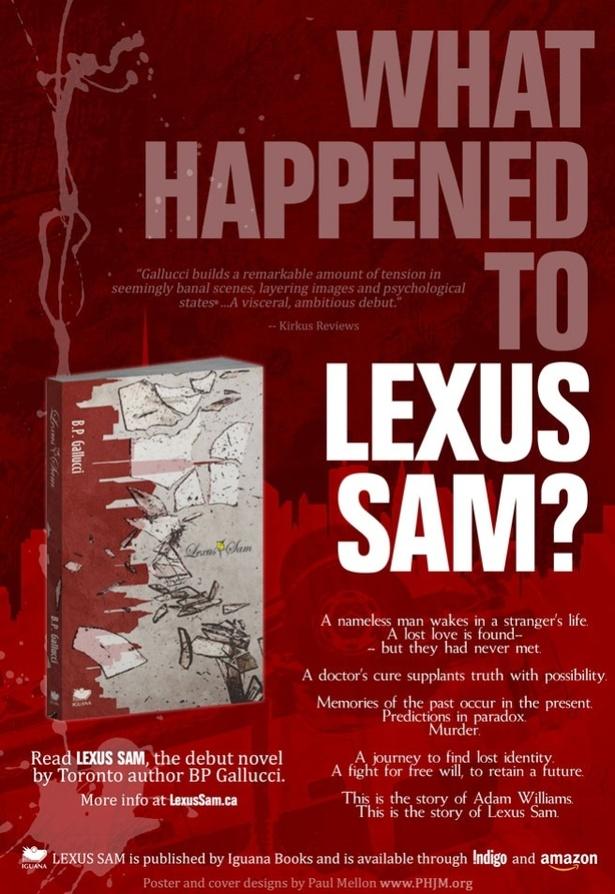 Outdoor Public Reading of Lexus Sam by Author BP Gallucci