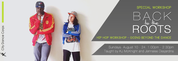 Back to the Roots Hip Hop Workshop