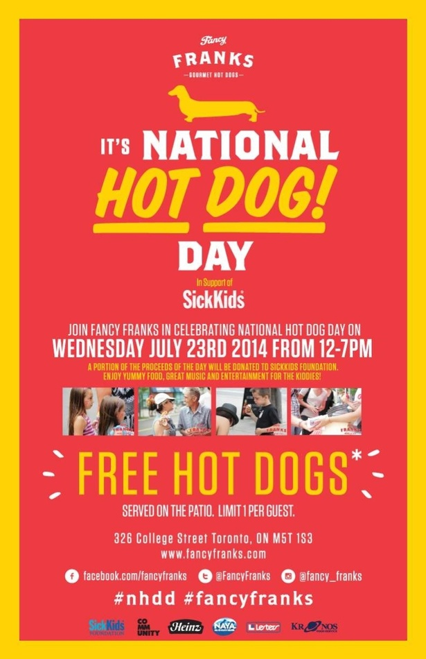Free Hot Dog Day