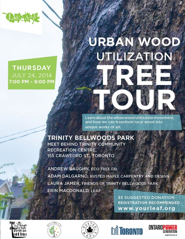 Urban Wood Utilization Tree Tour