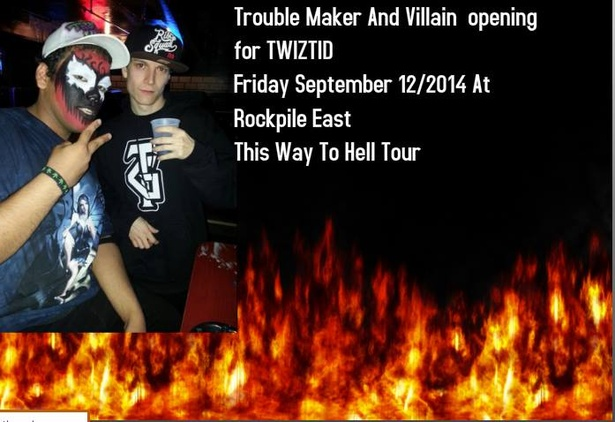 Trouble Maker and Villain Opening For Twiztid