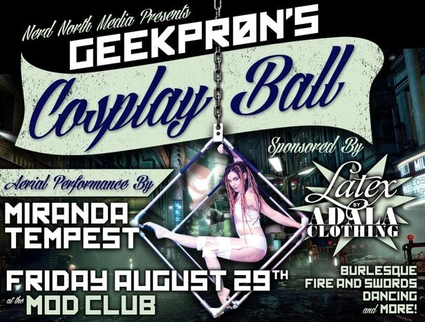 GEEKPRON'S Cosplay Ball