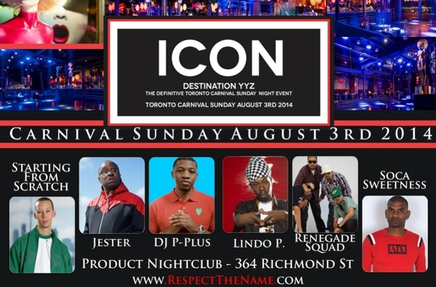 Icon Carnival Sunday