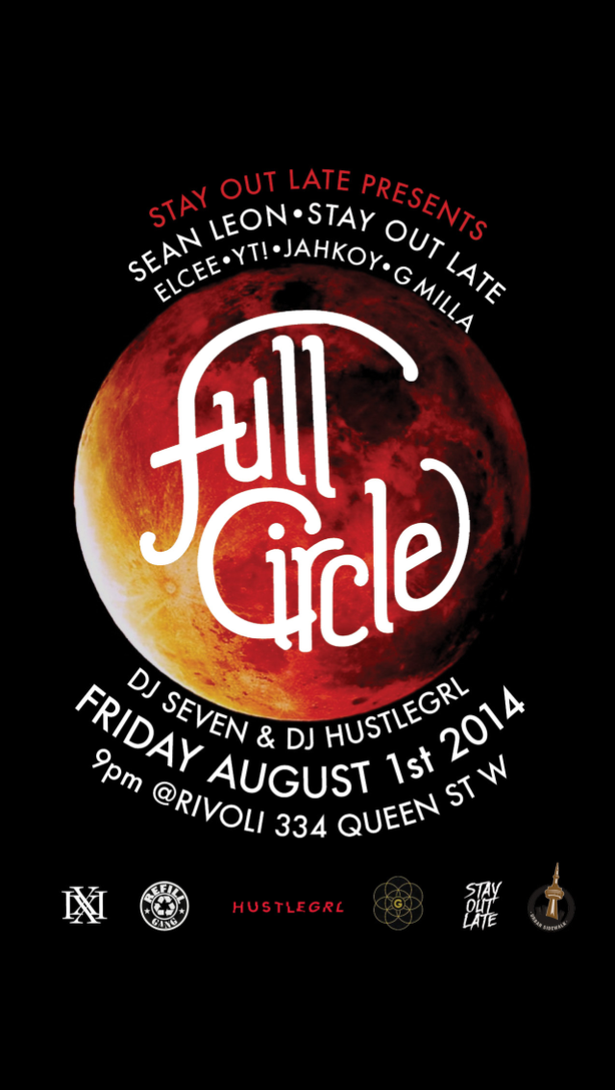 """Stay Out Late"" presents ""Full Circle"""