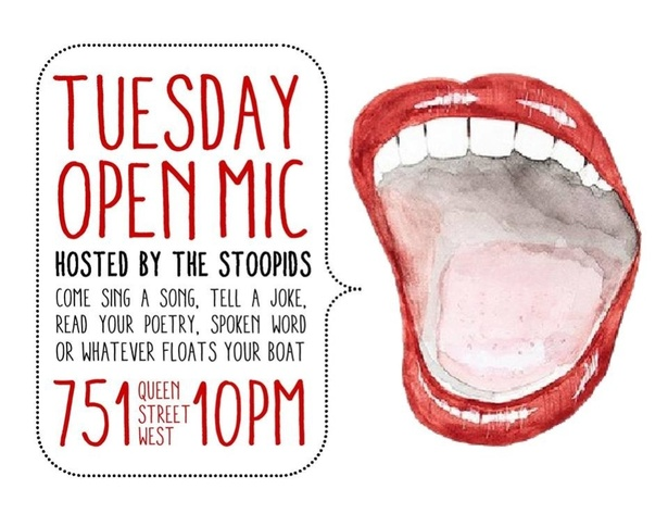 Open Mic Tuesdays @ 751 Lounge