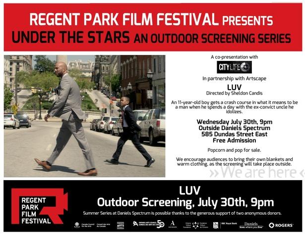 "Outdoor Screening of ""LUV"""