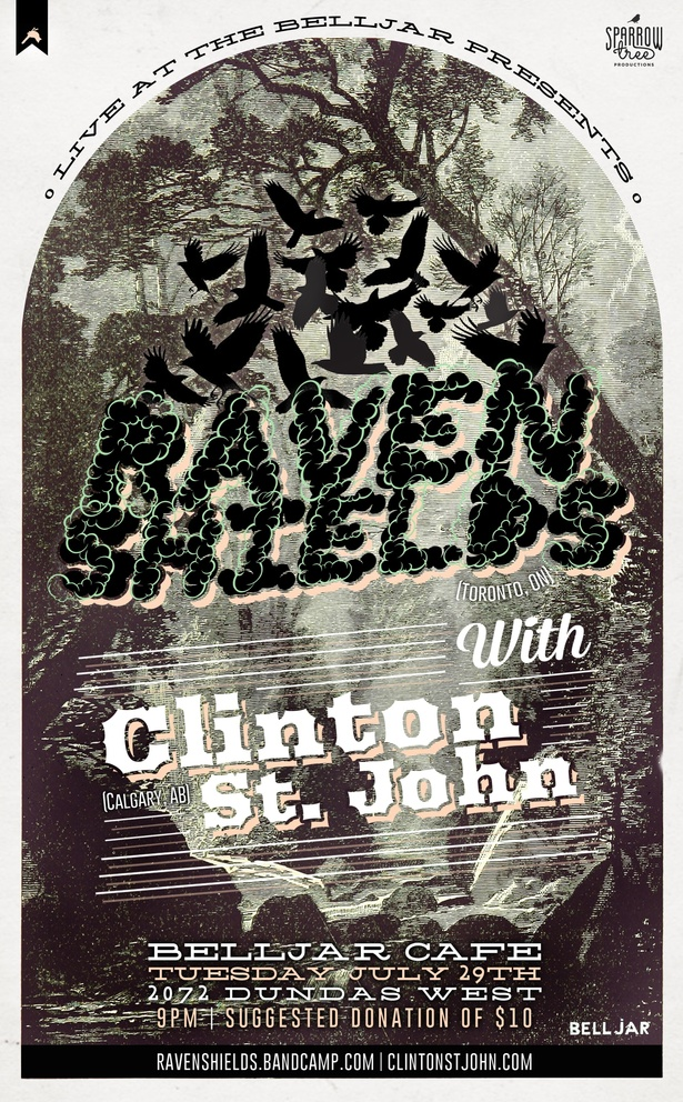 Live at the Belljar: Raven Shields and Clinton St. John