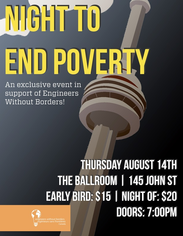 Night to End Poverty