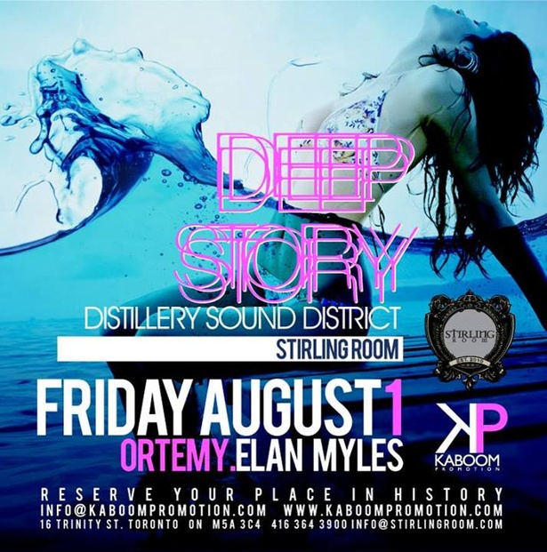 KABOOM presents: DEEP STORY @ STIRLING ROOM