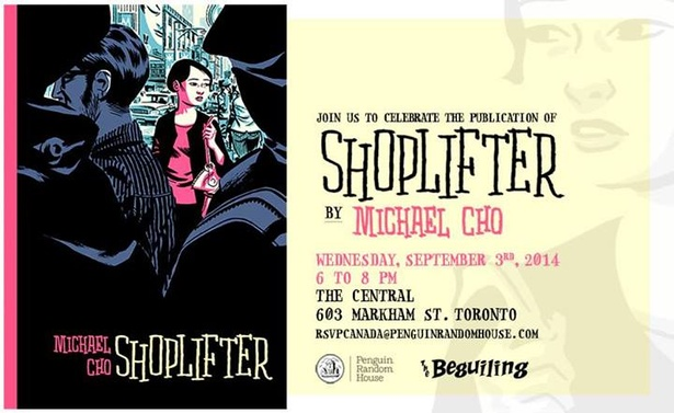 SHOPLIFTER: Book Launch & Event with Michael Cho