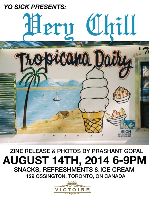 Very Chill: Zine Release/Photo Exhibit