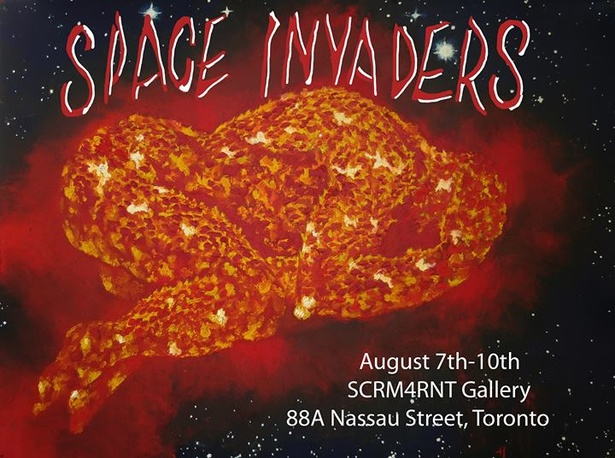 SPACE INVADERS  August 7-10