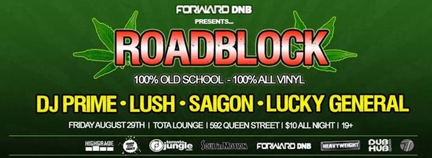 Forward DNB presents - ROADBLOCK 1