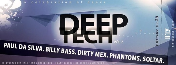 DEEP TECH Vol. 2  19  Doors 10pm