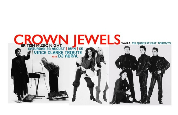 Crown Jewels British Music Night: Vince Clarke Edition
