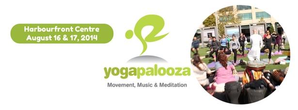 Yogapalooza @Harbourfront Centre 2014