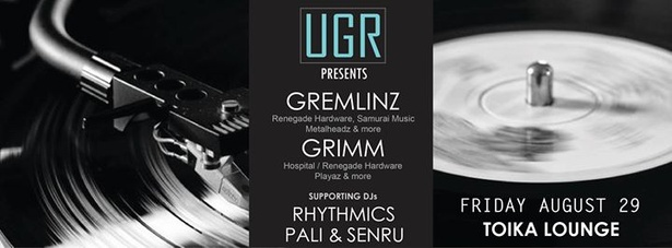 Underground Rhythmics Presents: GREMLINZ & GRIMM