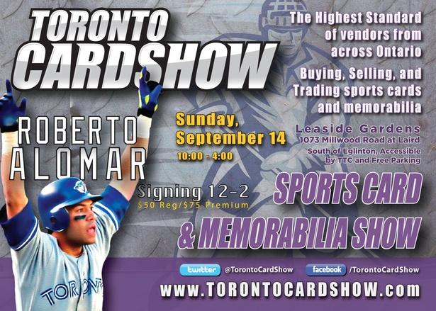 Toronto Card Show: Sports Cards & Memorabilia