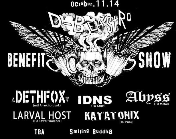 D-Beatstro Benefit Show!!!