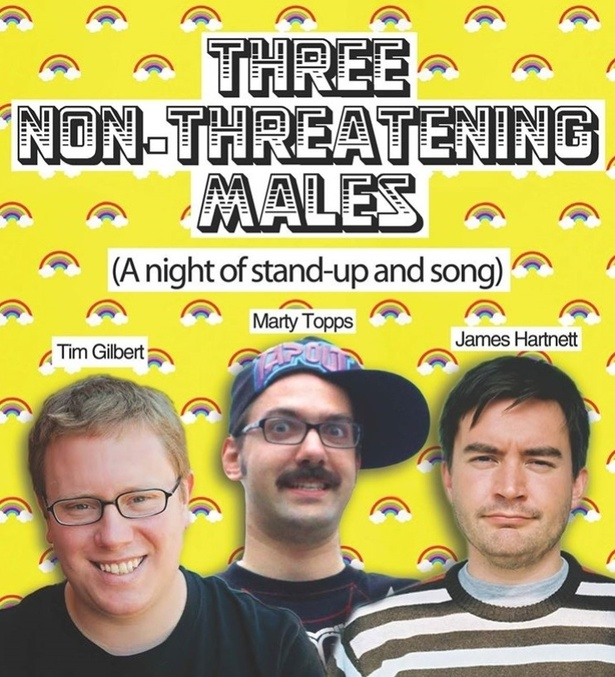 Three Non-Threatening Males