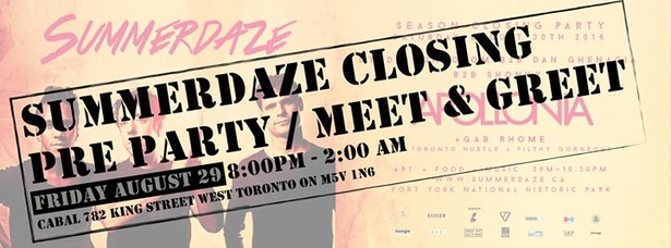 SUMMERDAZE Pre Party / Meet & Greet