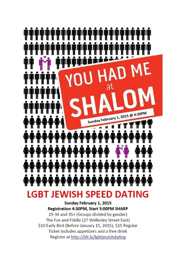 Jewish speed dating dc