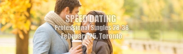 Speed dating in toronto for professionals