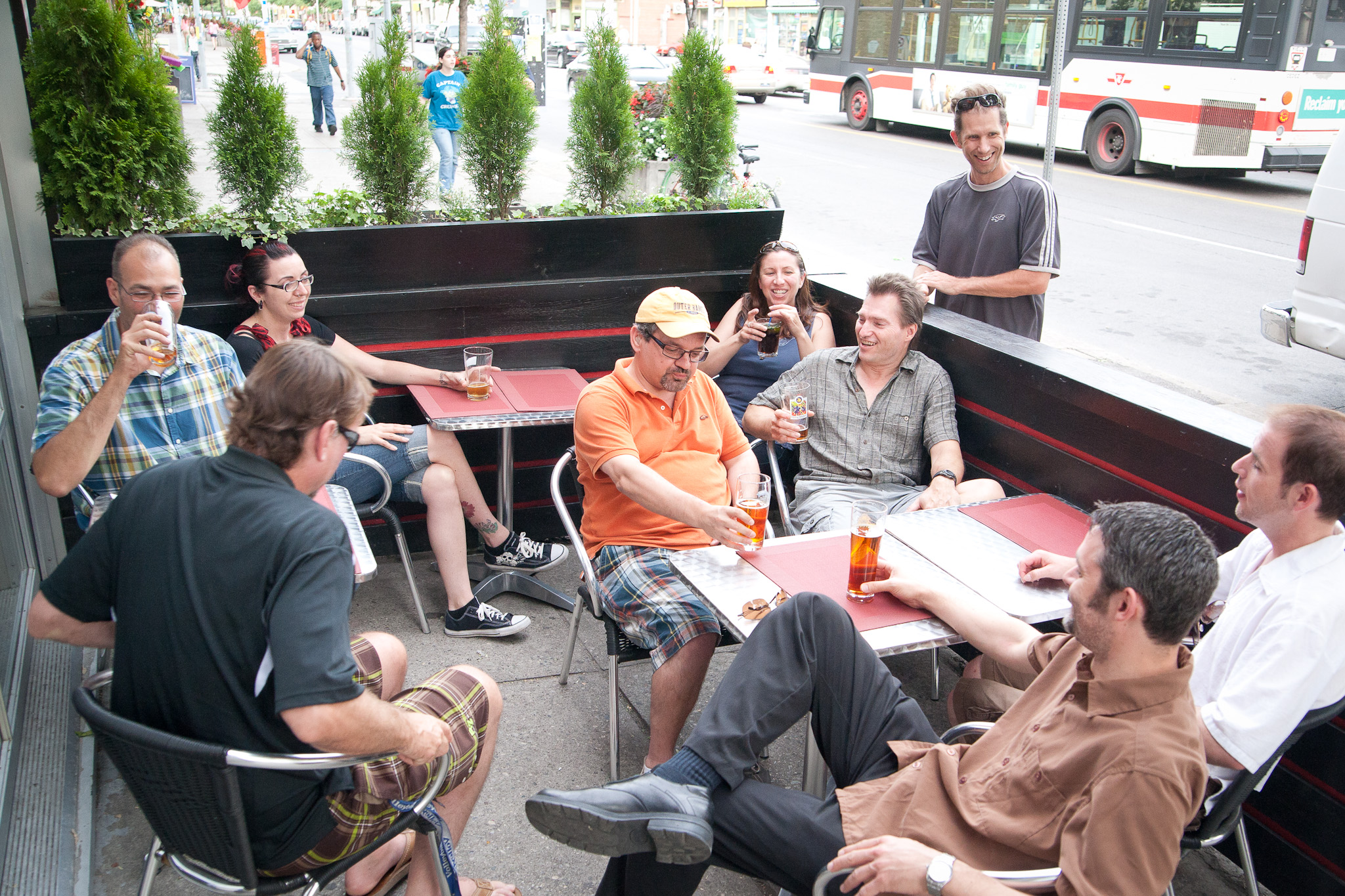 Toronto Patio Guide Morgans On The Danforth