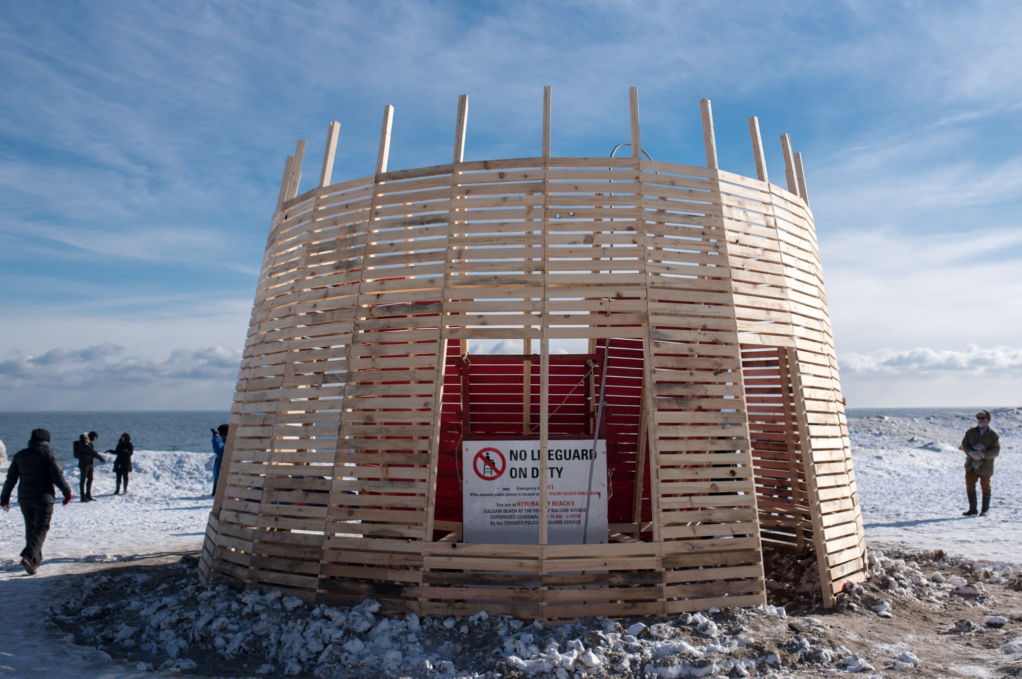 Winter Stations Public Art Exhibition In Toronto