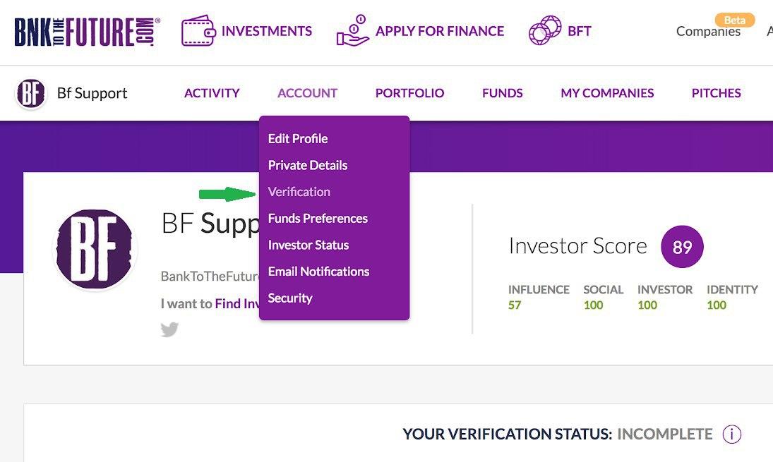 investor status