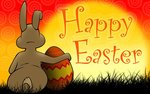 Rabbit happy easter wallpapers 1440x900