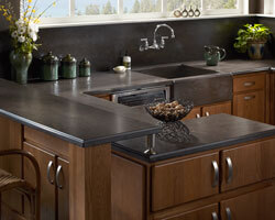 Earth Corian Kitchen Countertops