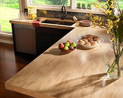 Hickory Smoke Kitchen Countertops