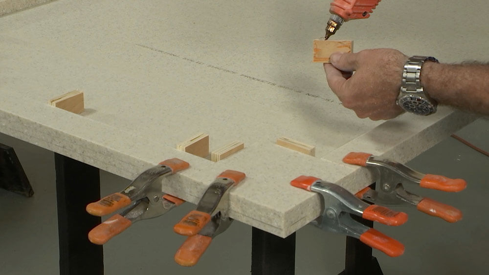 Glue in Stop Blocks