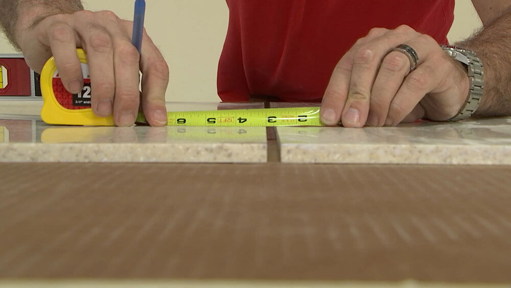 Measure 3/8 inch Apart