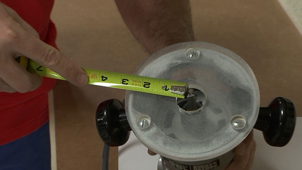 Measuring Your Router Base