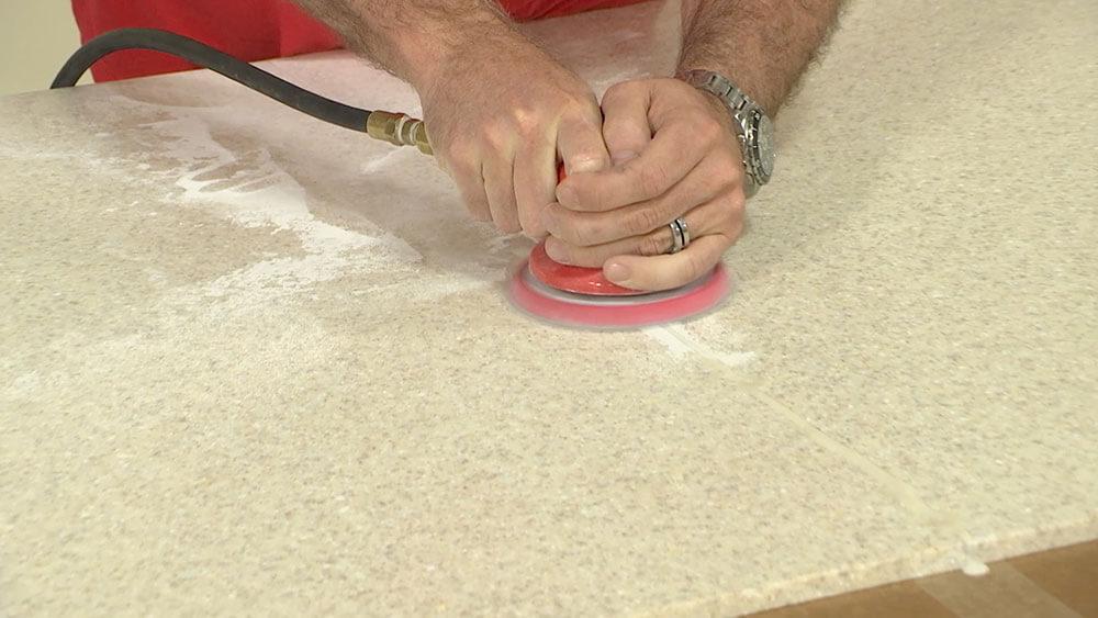 Sanding Away Glue Line