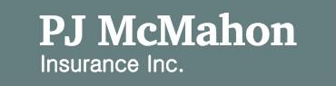 PJ McMahon Insurance Logo