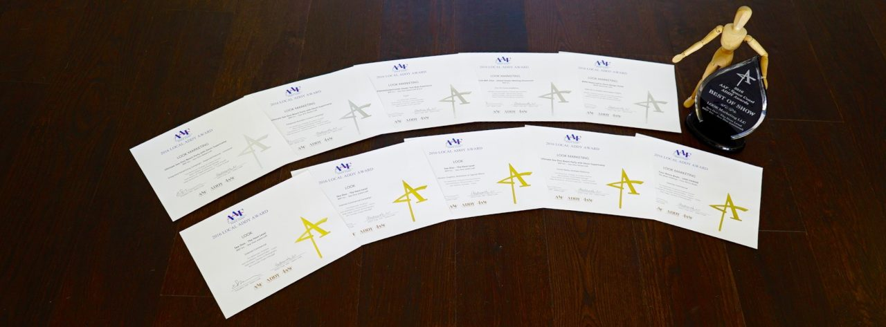 Space Coast Advertising Federation 2017 ADDY Awards for LOOK Marketing: Best of Show