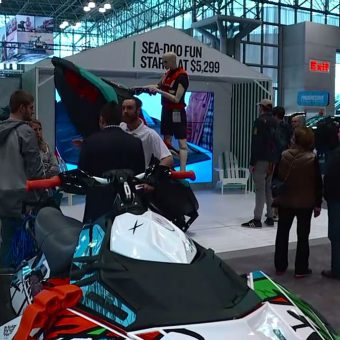 Media Relations: ABC News Coverage of Sea-Doo at 2017 New York Boat Show.