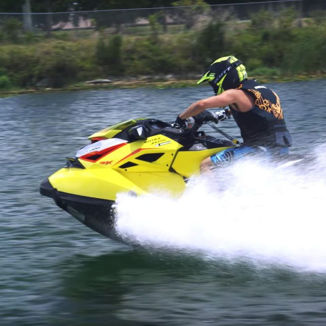Ultimate Sea-Doo Beach Party with Devin Supertramp (Rider on Sea-Doo RXP-X Performance Watercraft.)