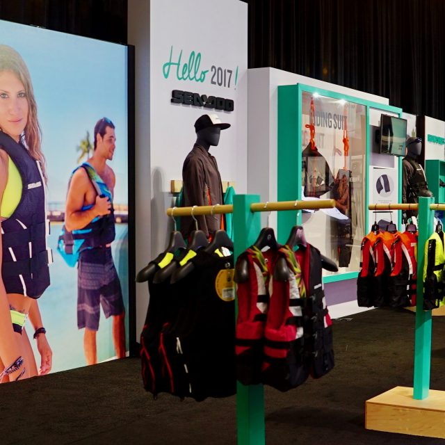 Visual Merchandising: 2017 Sea-Doo Trade Show