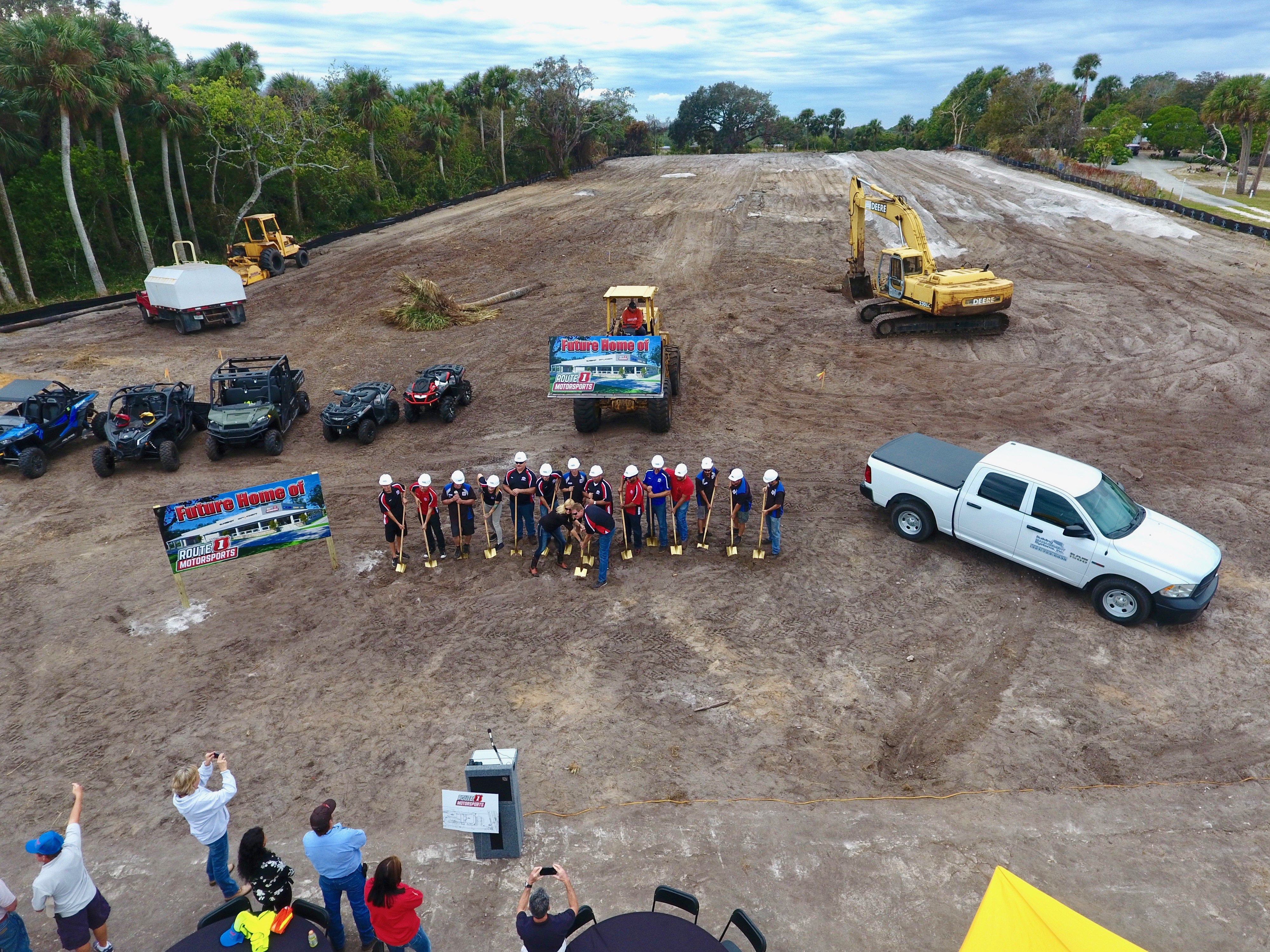 Press Event Coverage: Route 1 Motorsports Groundbreaking Ceremony
