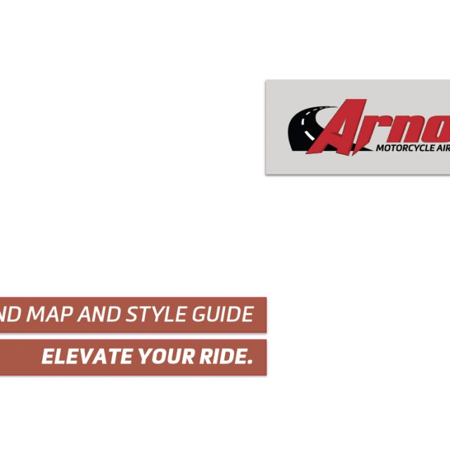 Arnott Motorcycle Air Suspension Branding