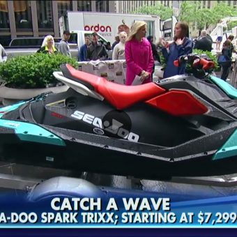 PR Win: Sea-Doo SPARK TRIXX on Fox and Friends.