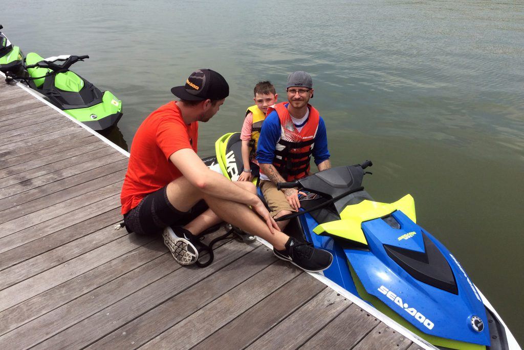 Sea-Doo Global Marketing Coordinator offering some pre-ride tips.